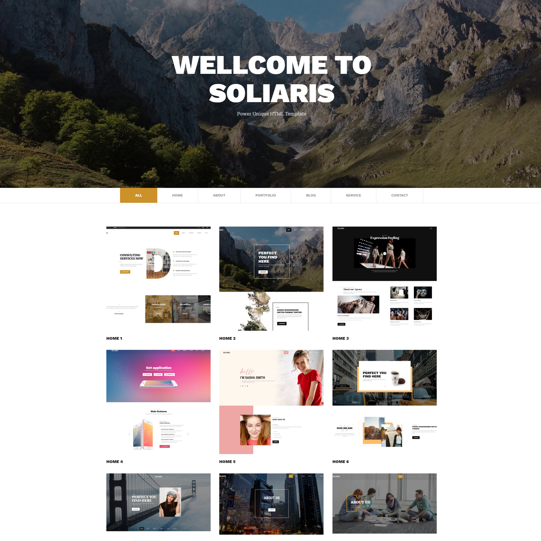 Free Bootstrap Soliaris Templates