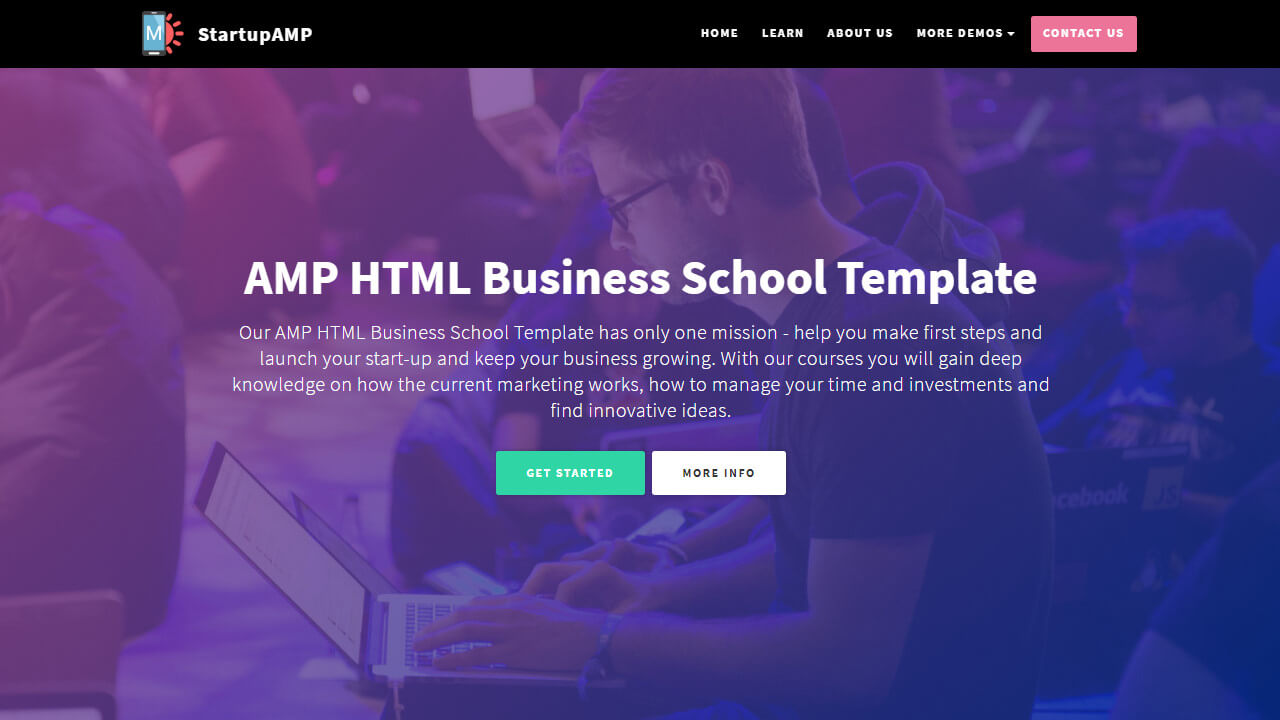 46 Superb Jquery Landing Page Themes List